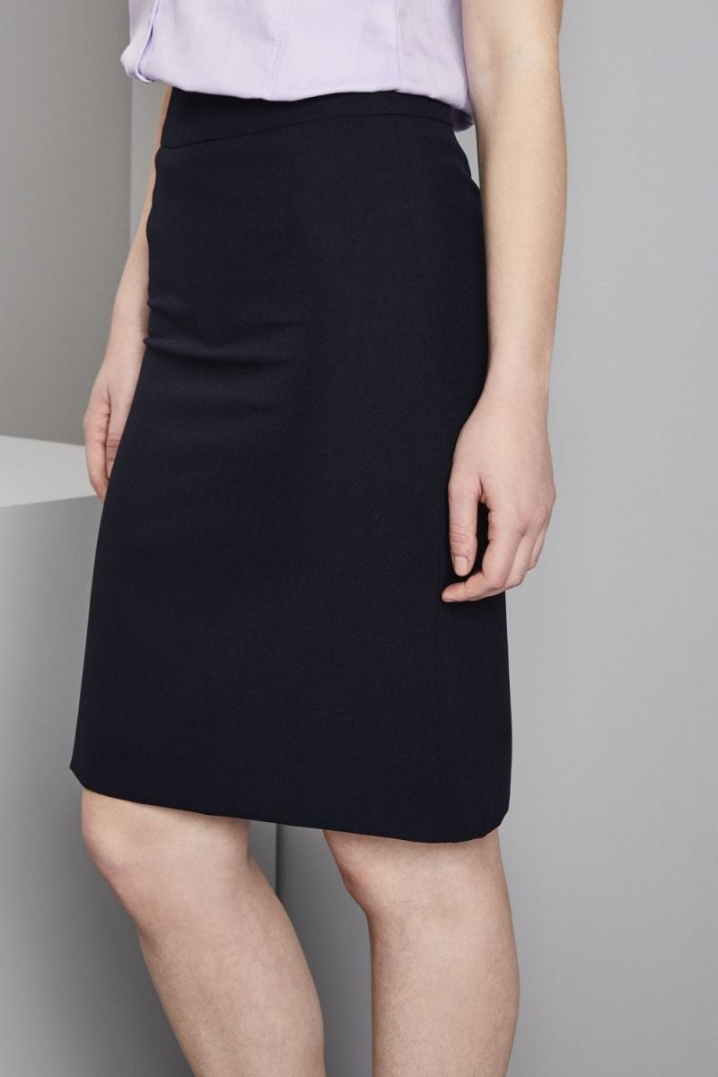 Select Ladies Skirt, 23in, Navy
