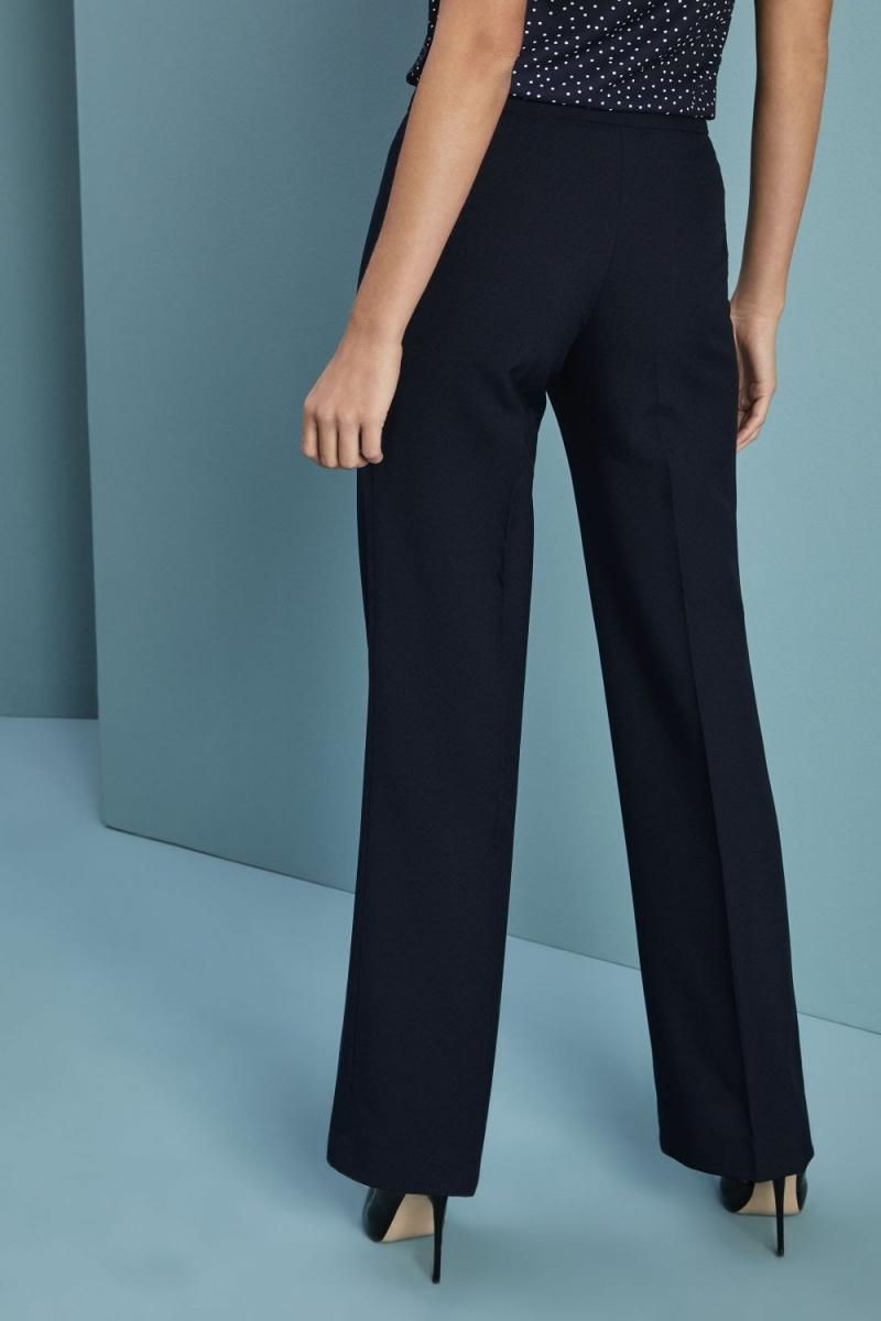 Select Ladies Parallel Leg Pants, Navy