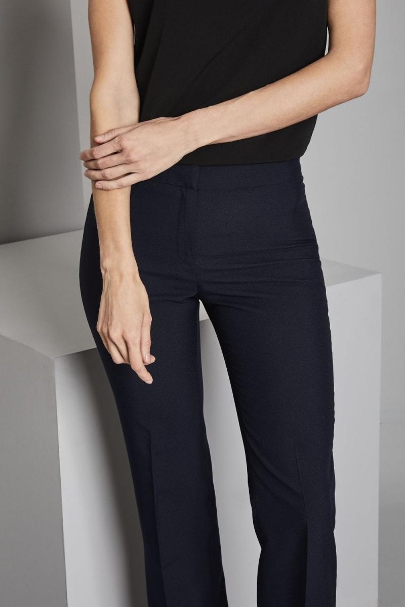 Select Ladies Bootleg Pants, Navy