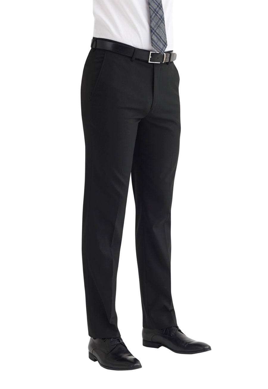 Monaco Tailored Fit Trouser Black
