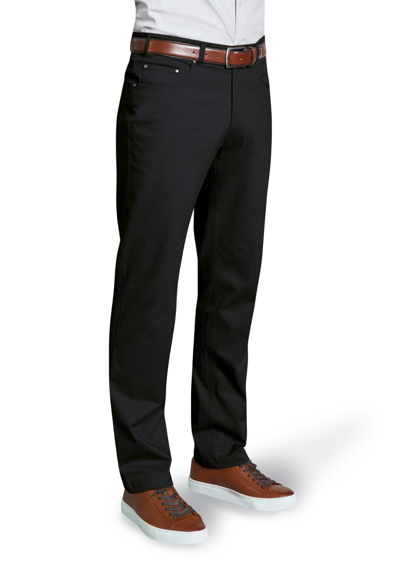 Brunswick 5 Pocket Chino Black
