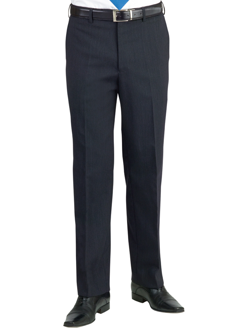 Aldwych Tailored Fit Trouser Charcoal