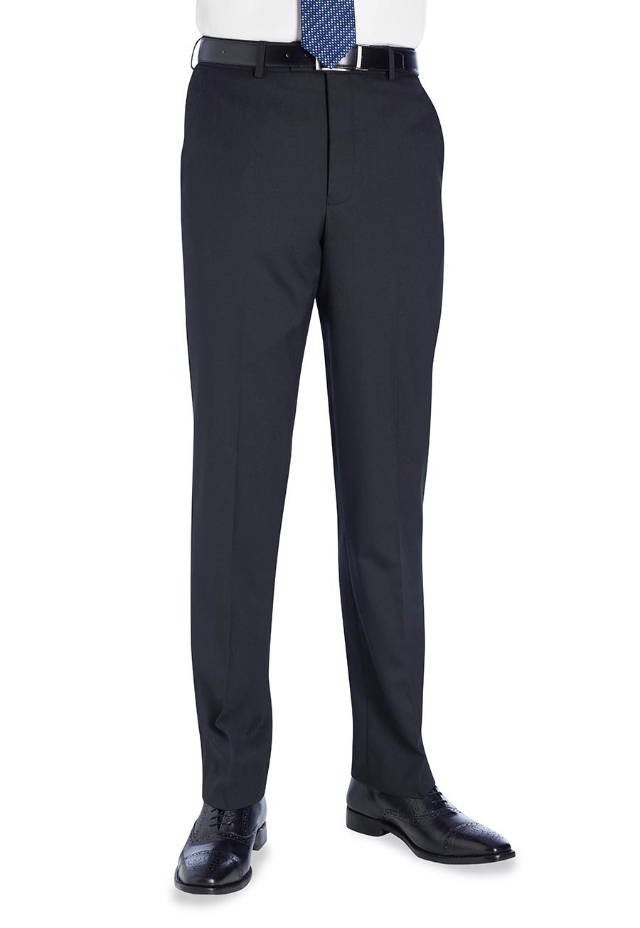 Aldwych Tailored Fit Trouser Black
