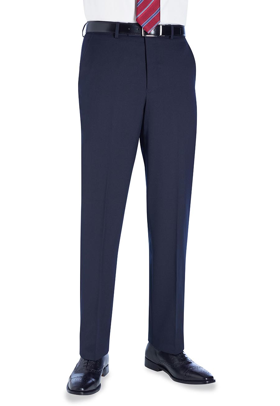 Aldwych Tailored Fit Trouser Navy