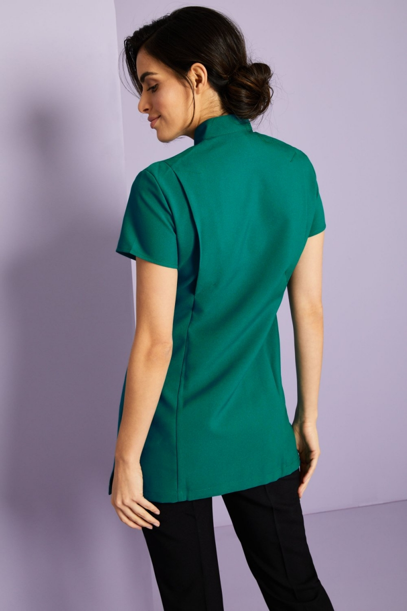 Asymmetrical Tunic, Jade