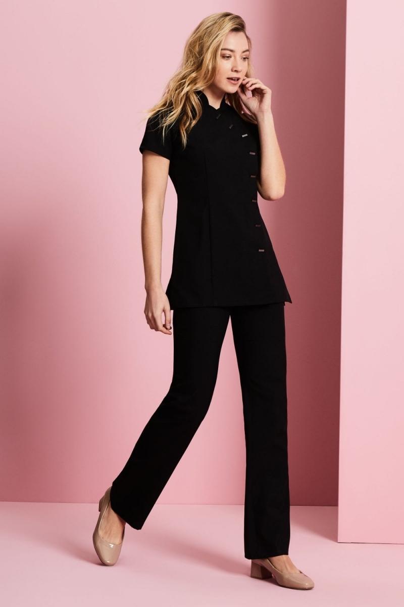 Asymmetrical Tunic, Black