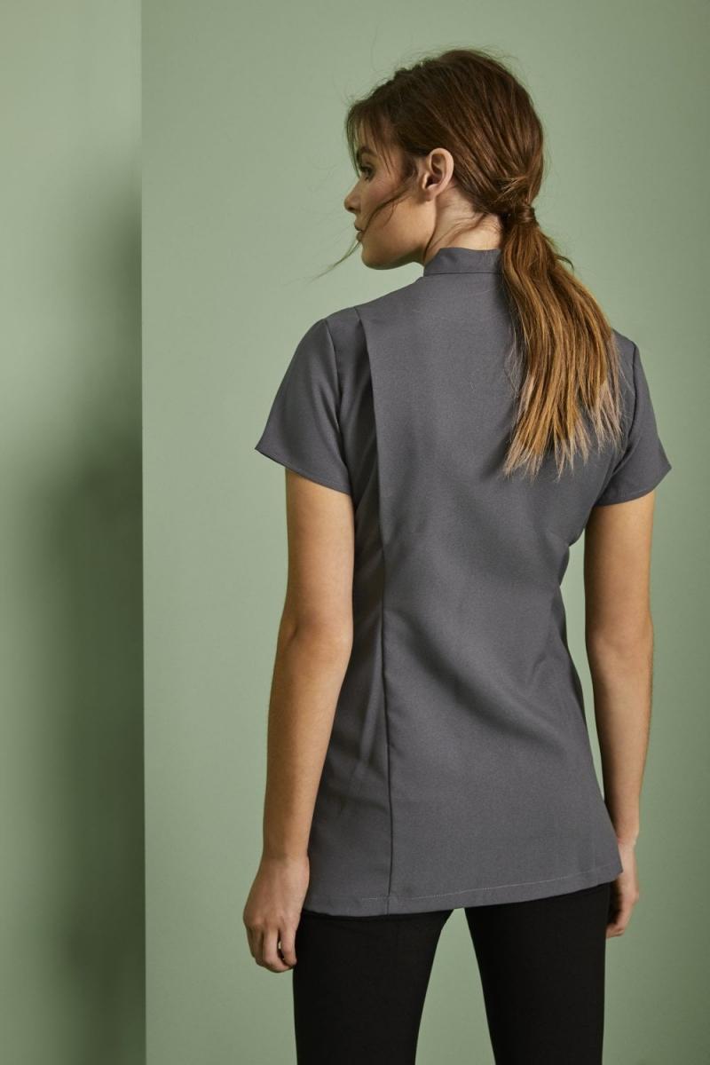 Asymmetrical Tunic, Graphite
