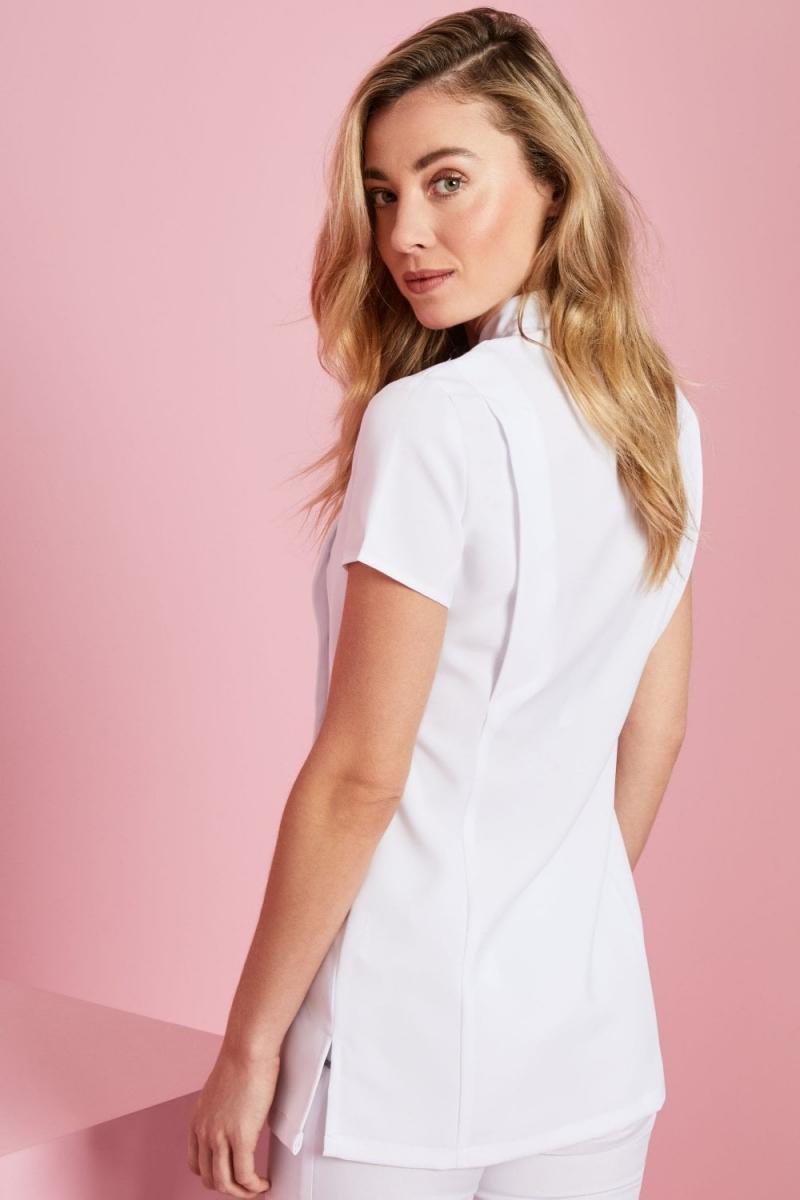Asymmetrical Tunic, White