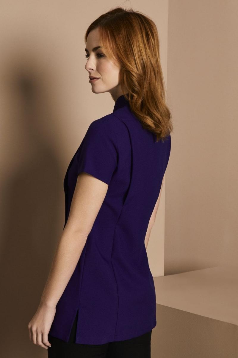 Asymmetrical Tunic, Royal Purple