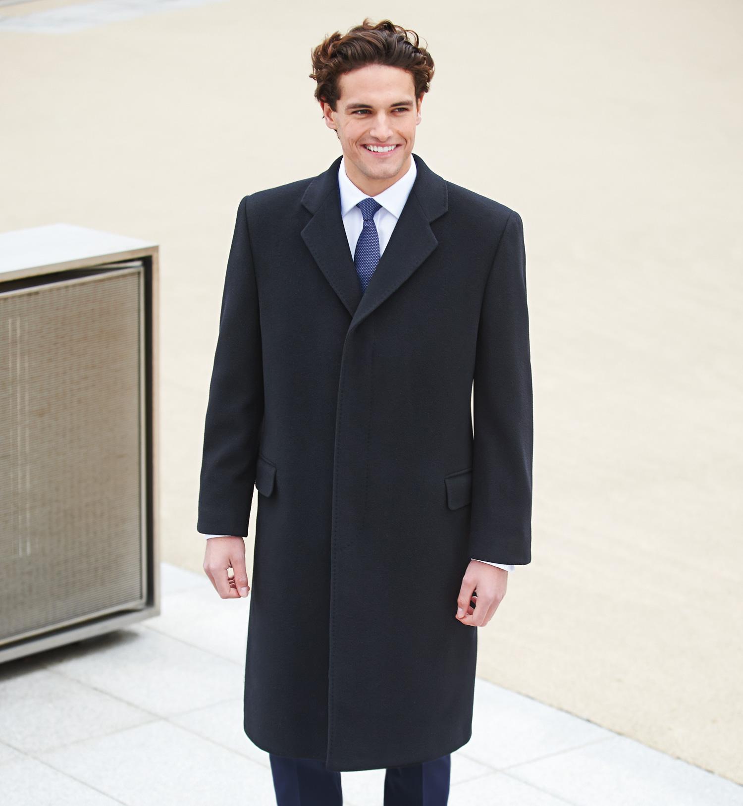 Men's Bond Overcoat Grey