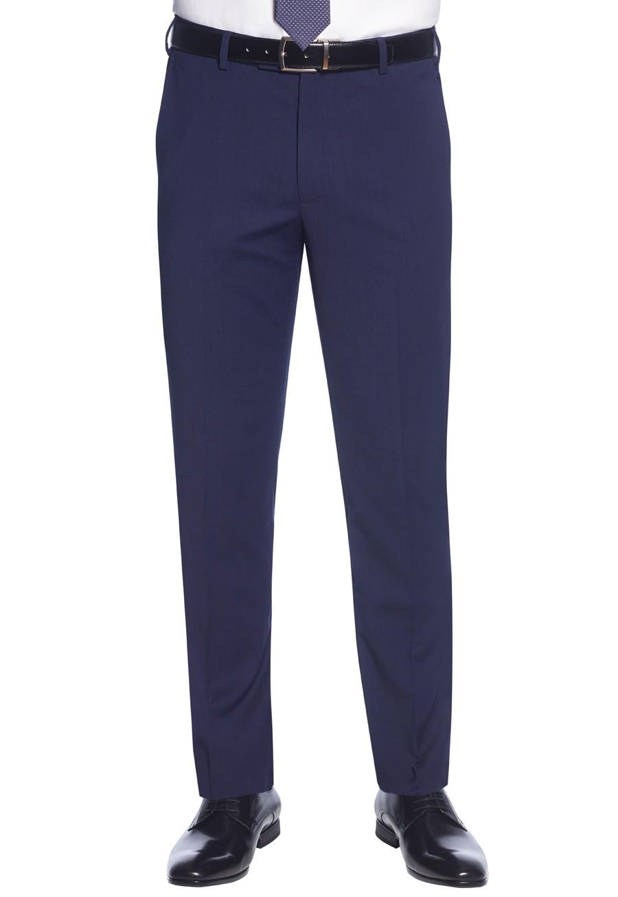 Cassino Slim Fit Trouser Mid Blue
