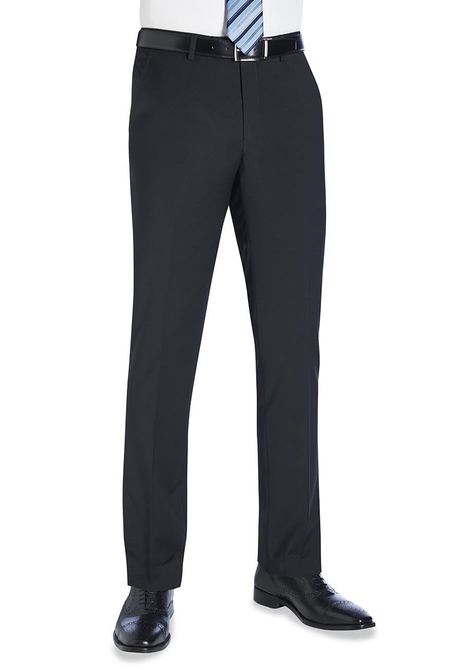 Cassino Slim Fit Trouser Black