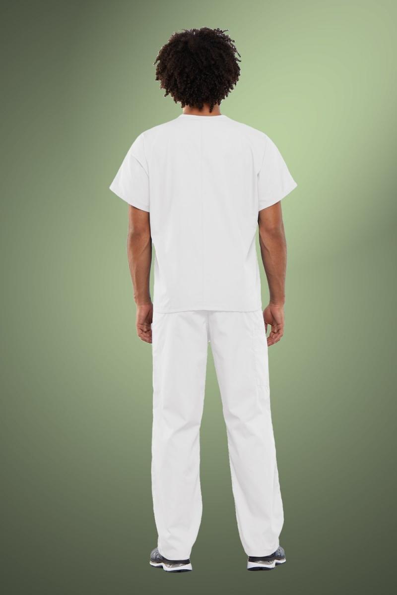 Cherokee Originals Unisex V-Neck Scrub Top 4777, White