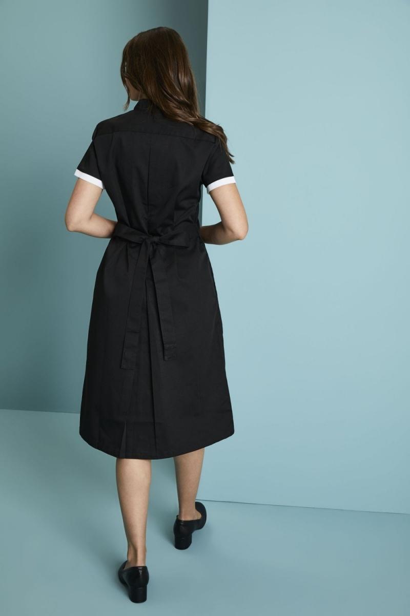 Definitive Dress, Black/White