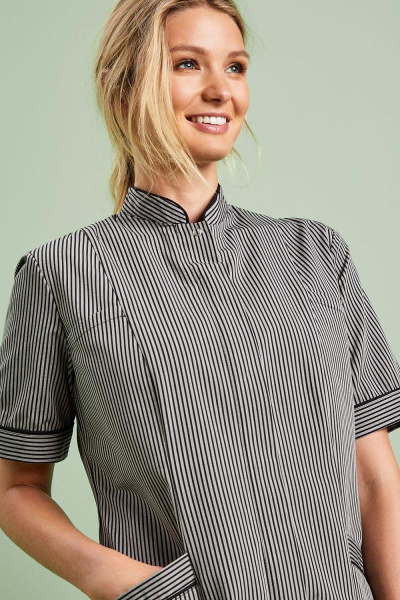 Ladies Tunic, Black Stripe