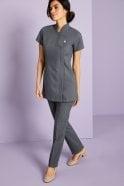 Select Ladies Slim Leg Pants, Graphite