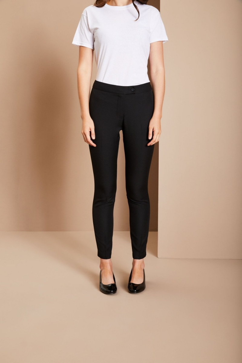 Slim Leg Beauty Pants, Black