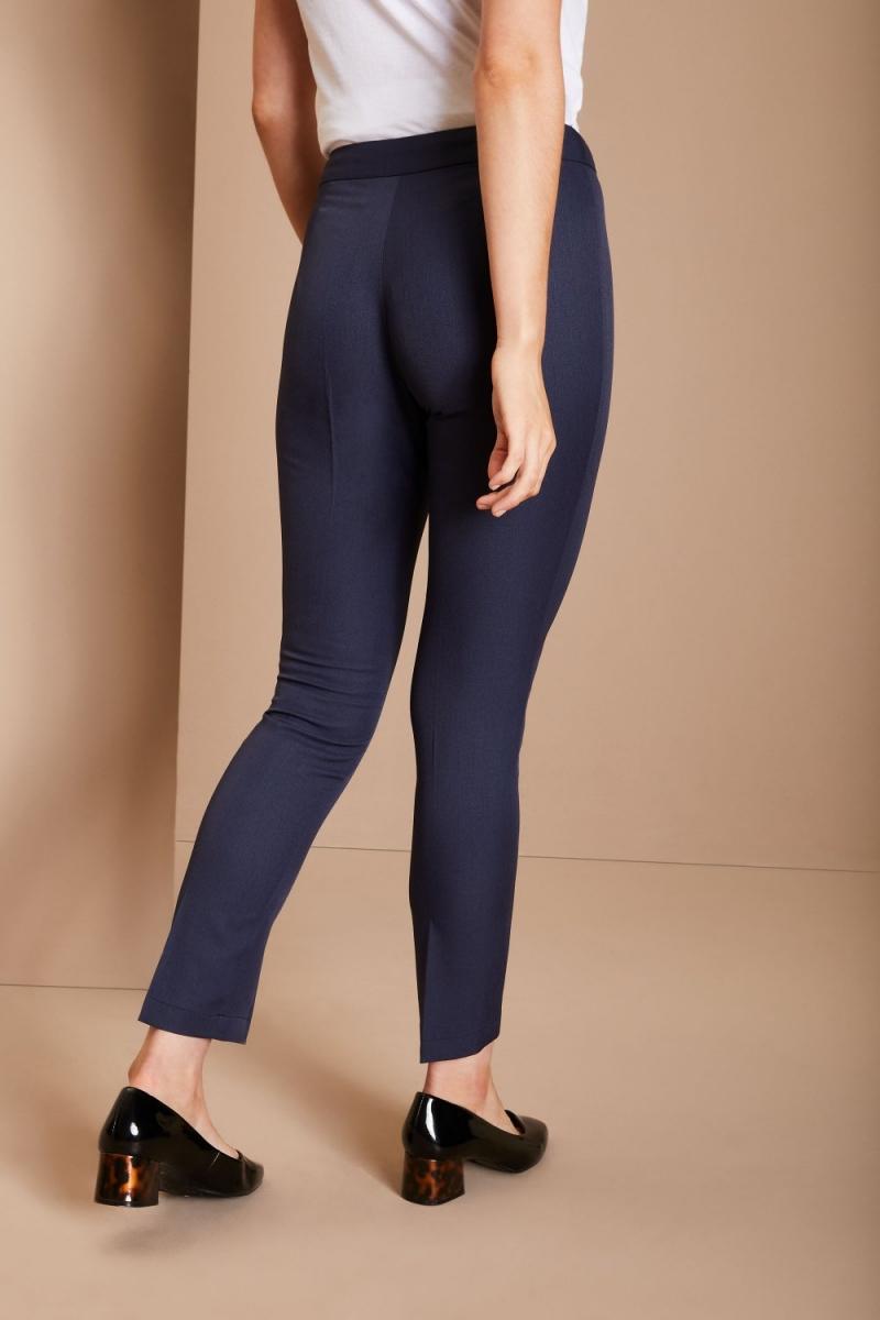 Slim Leg Beauty Pants, Navy