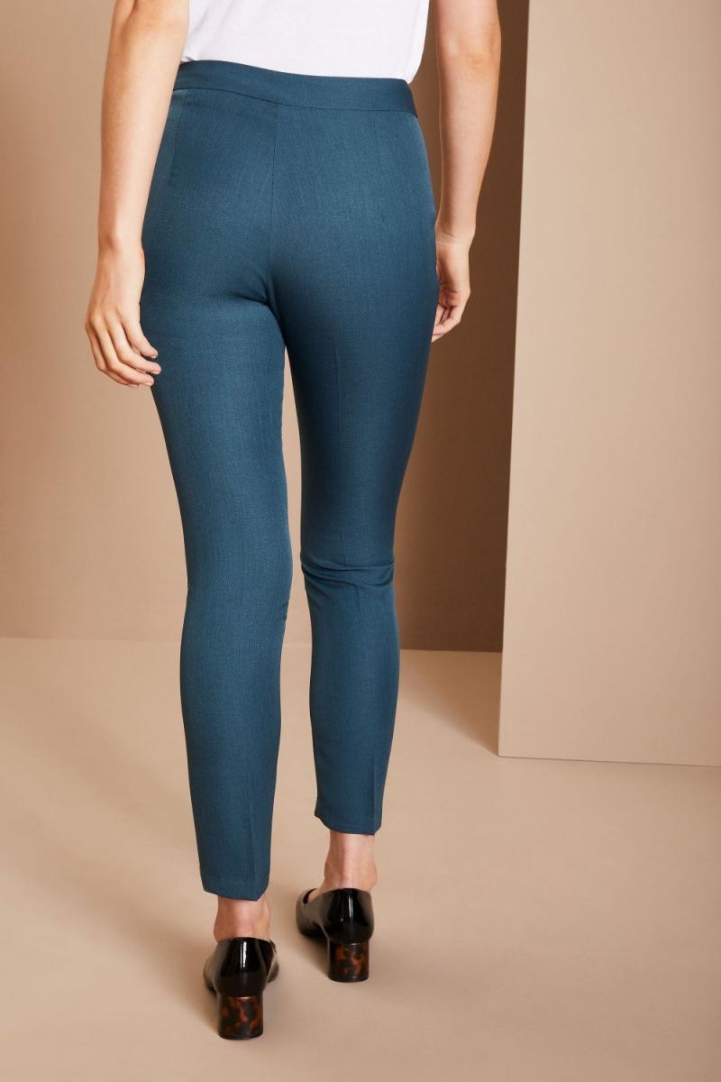 Slim Leg Beauty Pants, Petrol