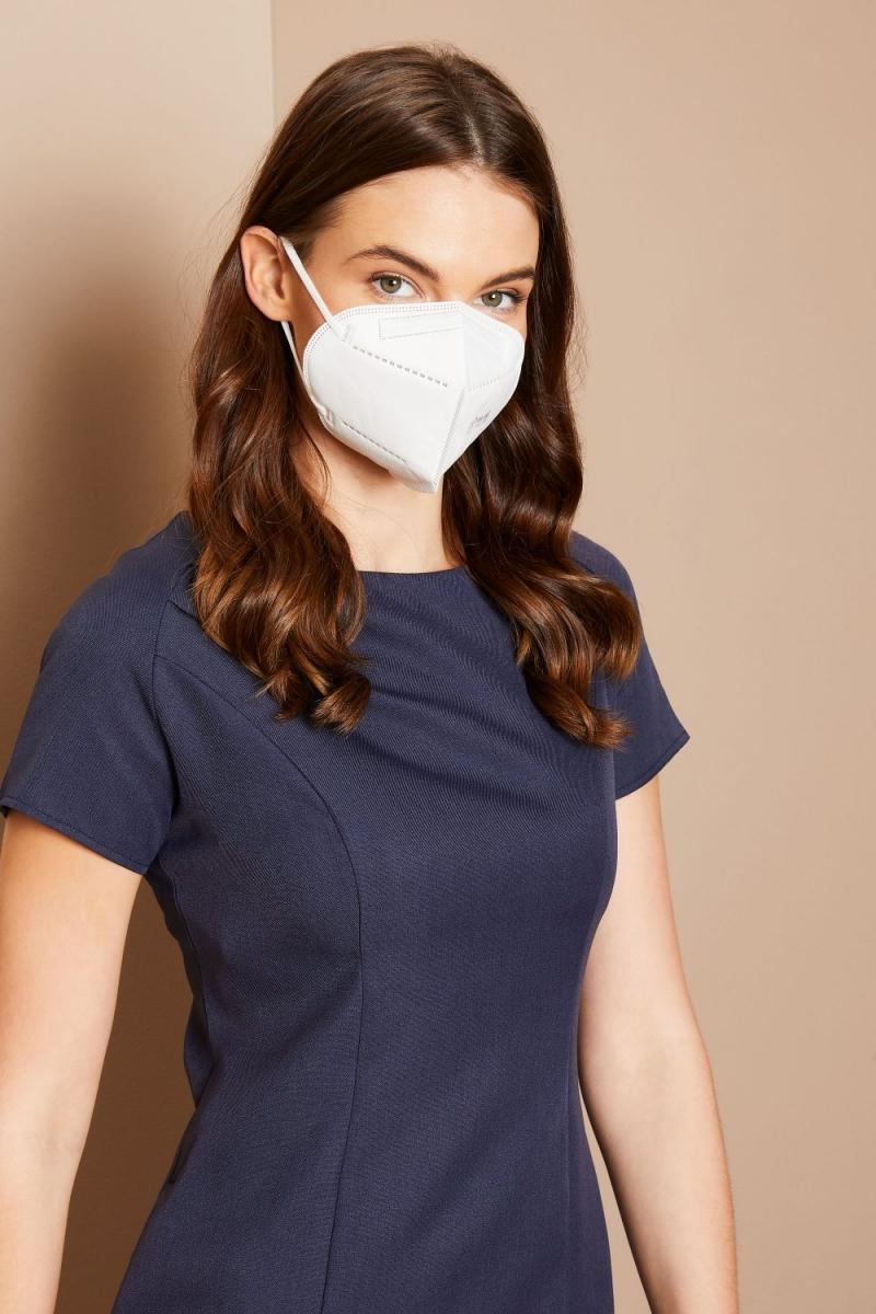 FFP2 4-Ply Respirator Face Masks - Pack Of 50