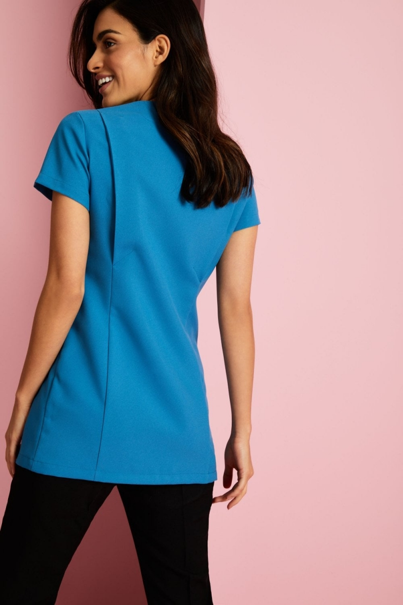 Front Fastening Tunic, Teal