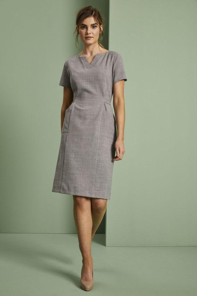 Linen Dress, Grey