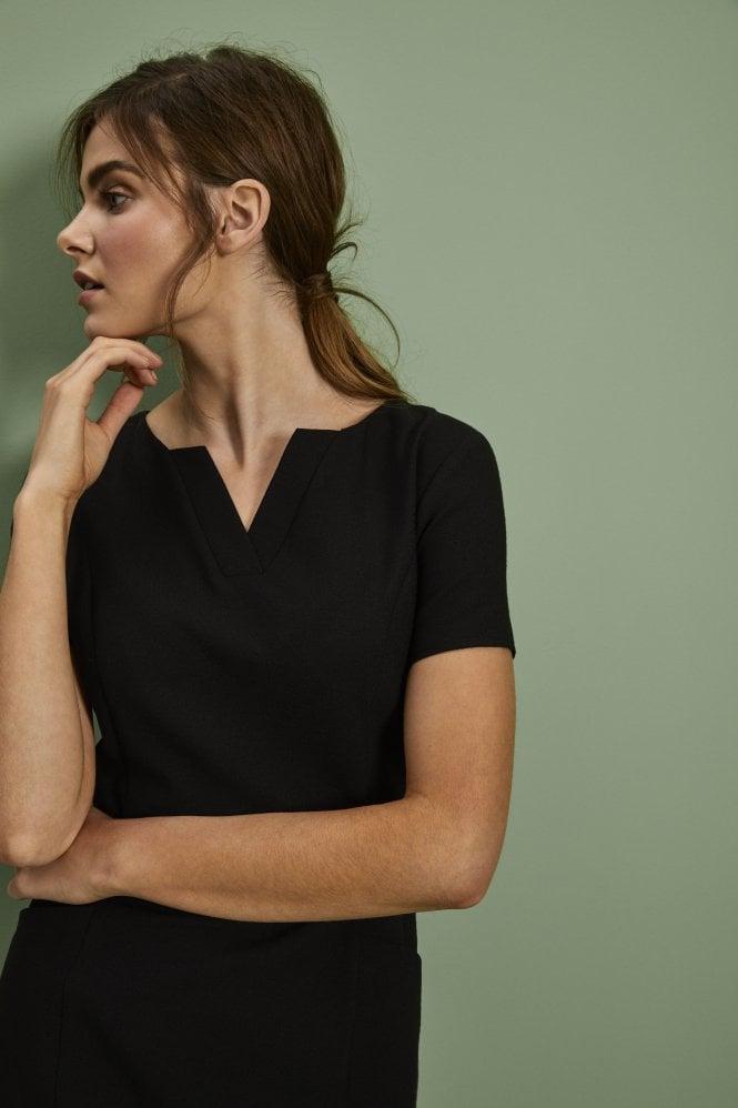 Linen Dress, Black