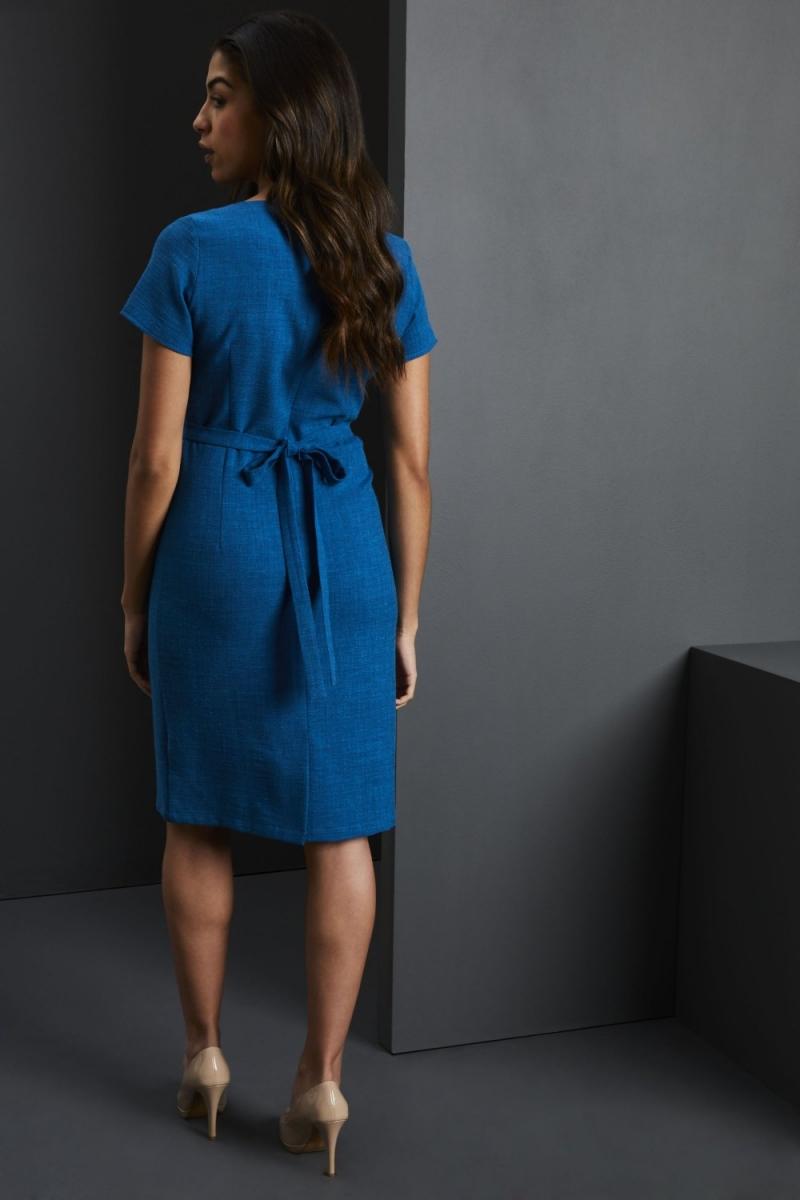 Linen Dress, Teal