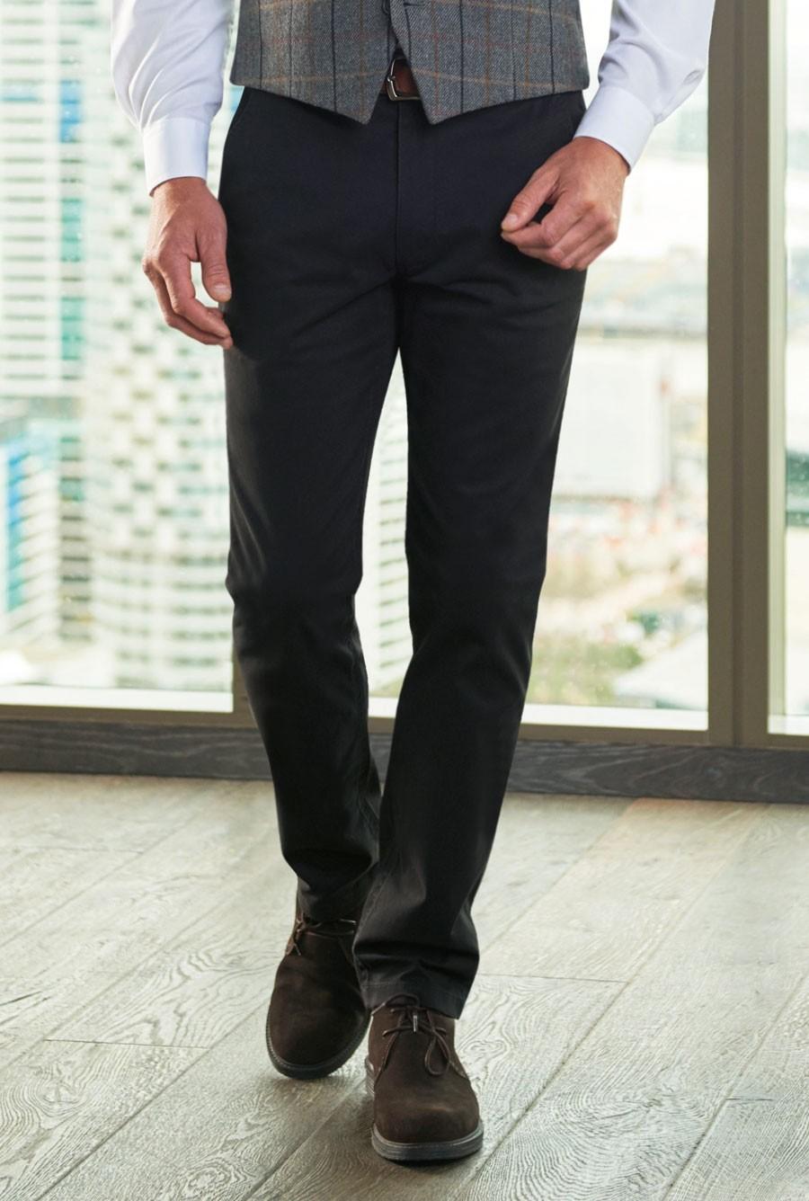 Miami Slim Fit Chino Black