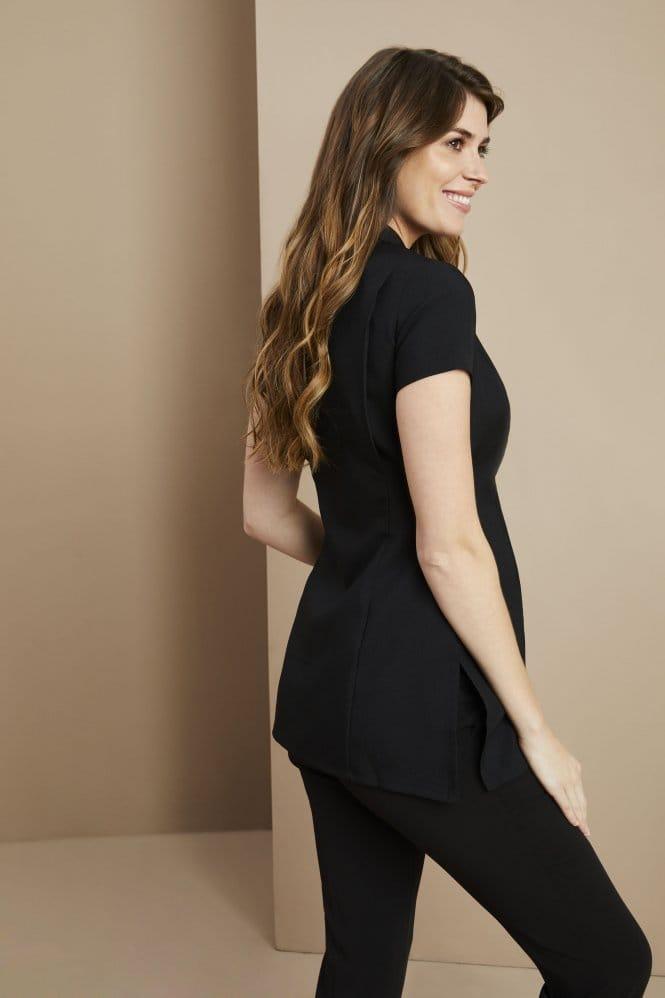 One Button Maternity Tunic, Black