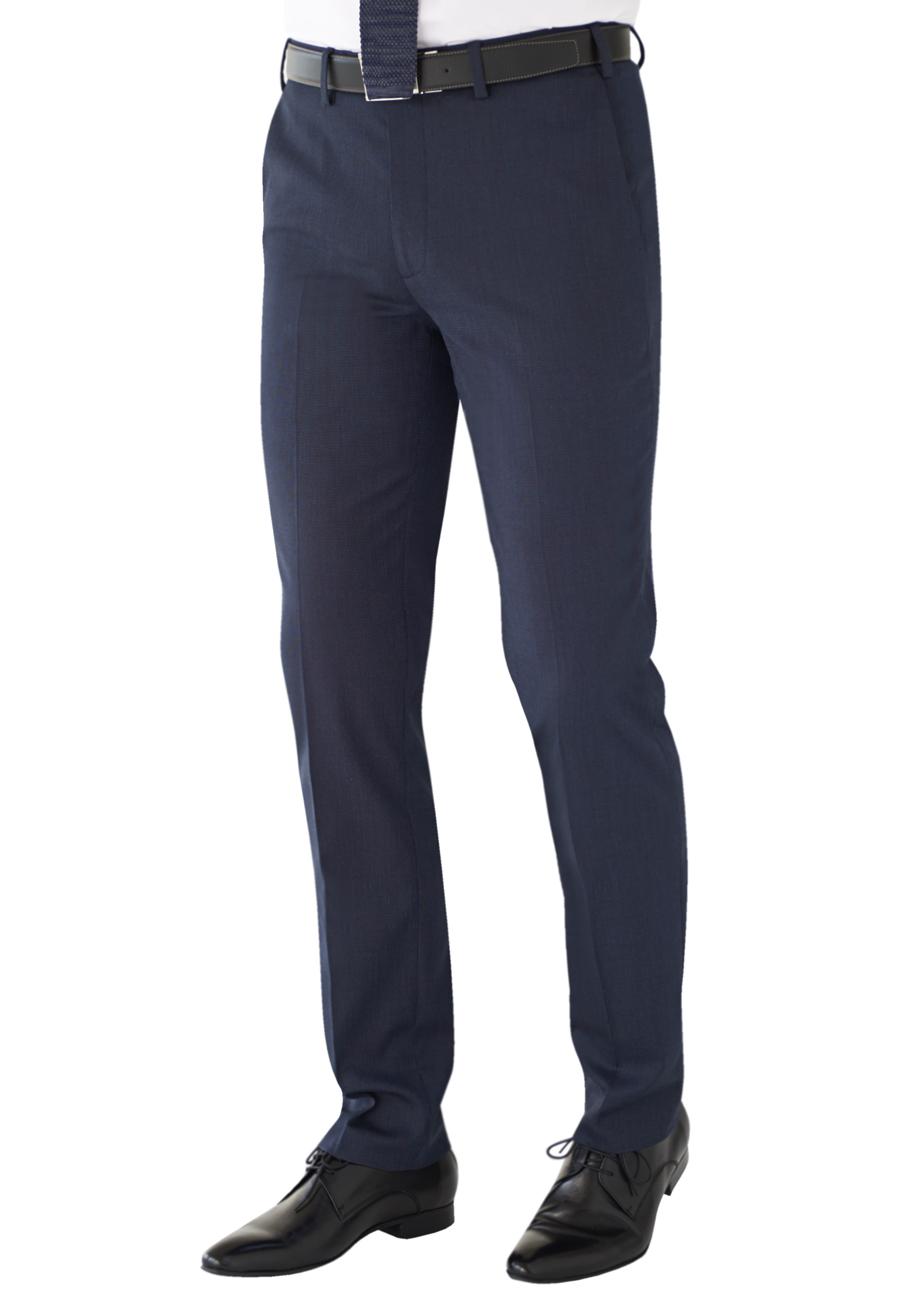 Pegasus Slim Fit Trouser Navy