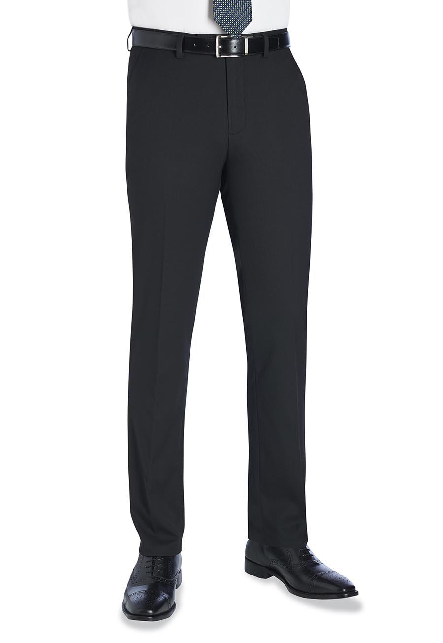 Pegasus Slim Fit Trouser Black