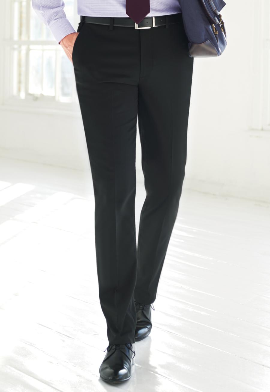 Phoenix Tailored Fit Trouser Char P/Dot