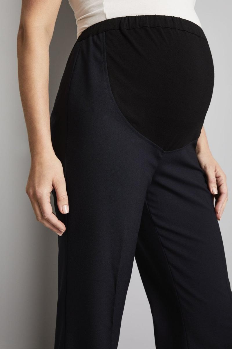 Maternity Parallel Leg Pants, Navy