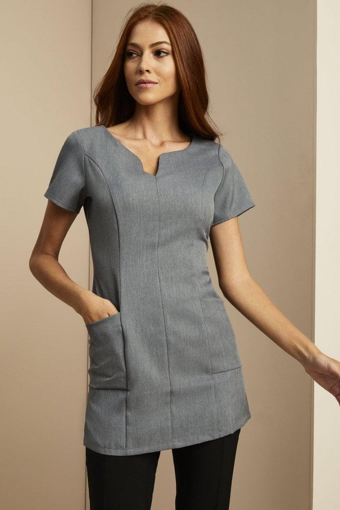 Side Pocket Tunic, Grey