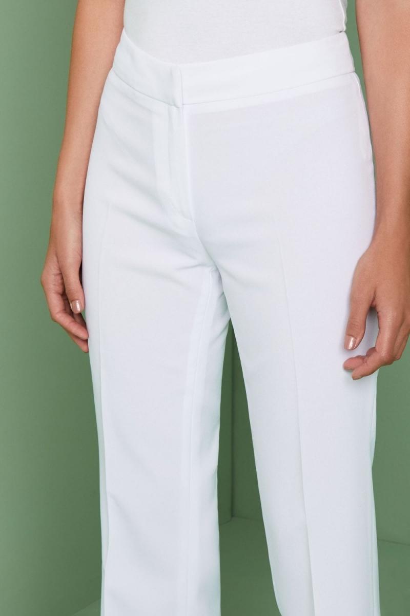 Select Ladies Bootleg Pants, White