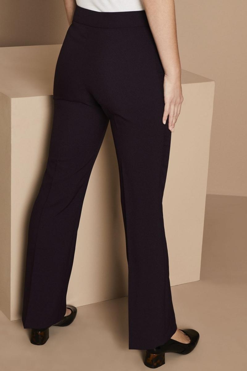 Select Ladies Bootleg Pants, Plum