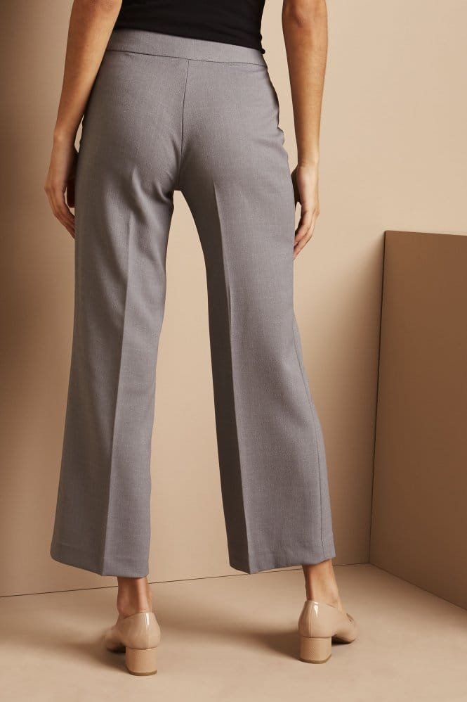 Cropped Pants, Regular, Oyster