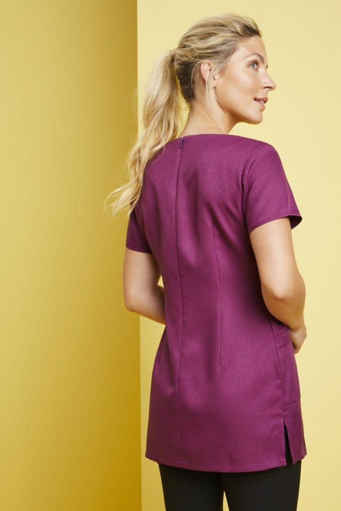 Side Pocket Tunic, Mulberry