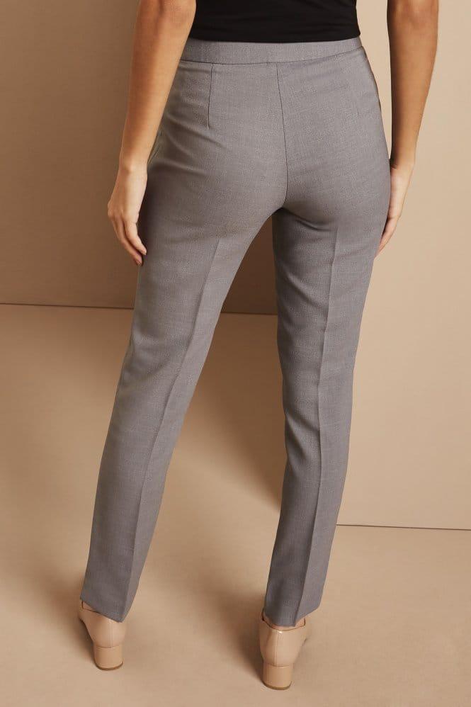 Slim Leg Pants, Short, Oyster