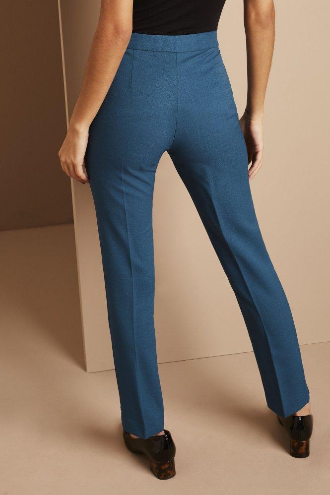 Slim Leg Pants, Regular, Teal