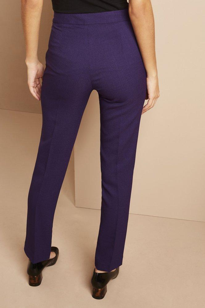 Slim Leg Pants, Short, Violet