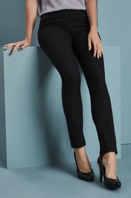 Qualitas pantalon style Slim jambe  Non ourlés2