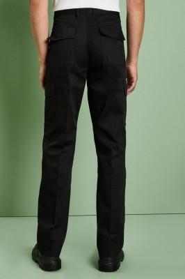 Men's Cargo Pants, Black
