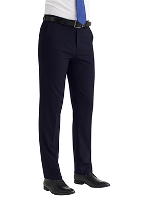 Monaco Tailored Fit Trouser Navy