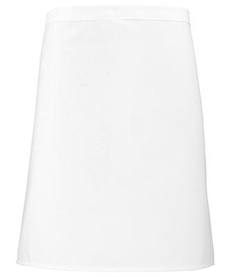 Short bar apron White