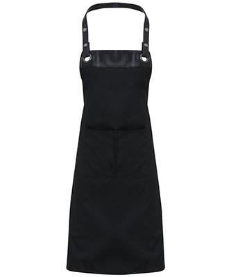 Espresso bib apron BlackBlack