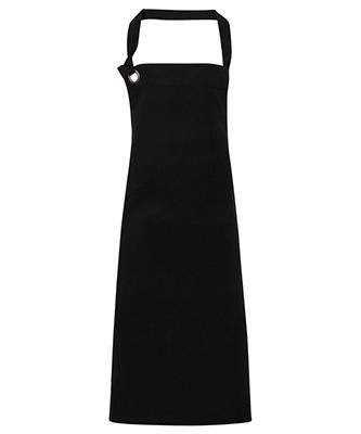 Calibre heavy cotton canvas bib apron Black