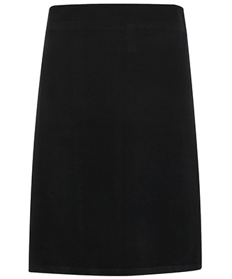 Calibre heavy cotton canvas waist apron Black