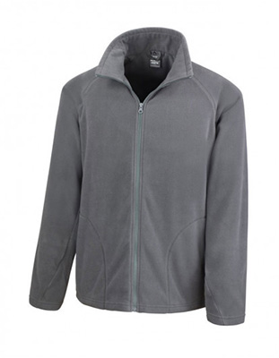 Result Unisex Micro Fleece, Charcoal